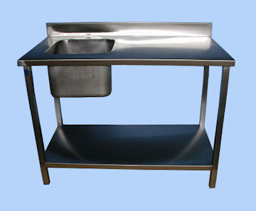 Fabricant de table chef en inox