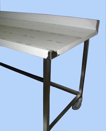 Table de slap pour pizza en inox